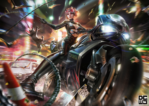 Catwoman meow turbo ver.